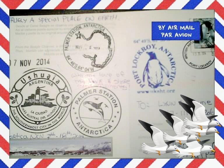 Postcard Ushuaia
