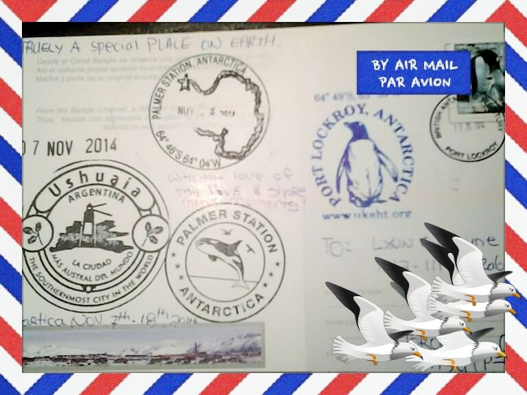 Postal desde Ushuaia